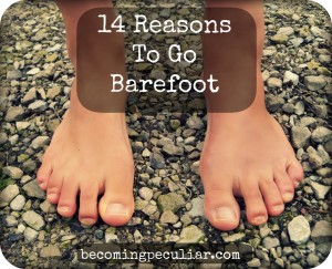 BF - 14 reasons to go barefoot
