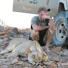 BF - Dr. Philip Stander & lion