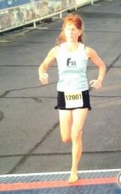 BF - Trissa King running
