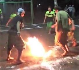 BF - Soccer - fire