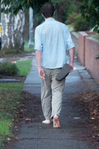BF - UW Barefoot Guy